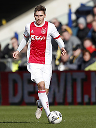 Maximilian Wober of Ajax during the Dutch Eredivisie match between Vitesse Arnhem and Ajax Amsterdam at Gelredome on March 04, 2018 in Arnhem, The Netherlands