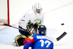 Matija Pintaric of Slovenia during ice hockey match between South Korea and Slovenia at IIHF World Championship DIV. I Group A Kazakhstan 2019, on April 30, 2019 in Barys Arena, Nur-Sultan, Kazakhstan. Photo by Matic Klansek Velej / Sportida