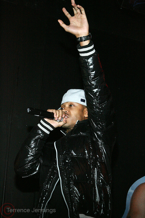Terrence J at The Vibe Magazine VIP Celebration for Vibe's December cover featuring the first New York show of Plies, held at The Knitting Factory on November 24, 2008 in NYC