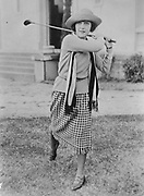 Patsy Ruth Miller Playing Golf 1932