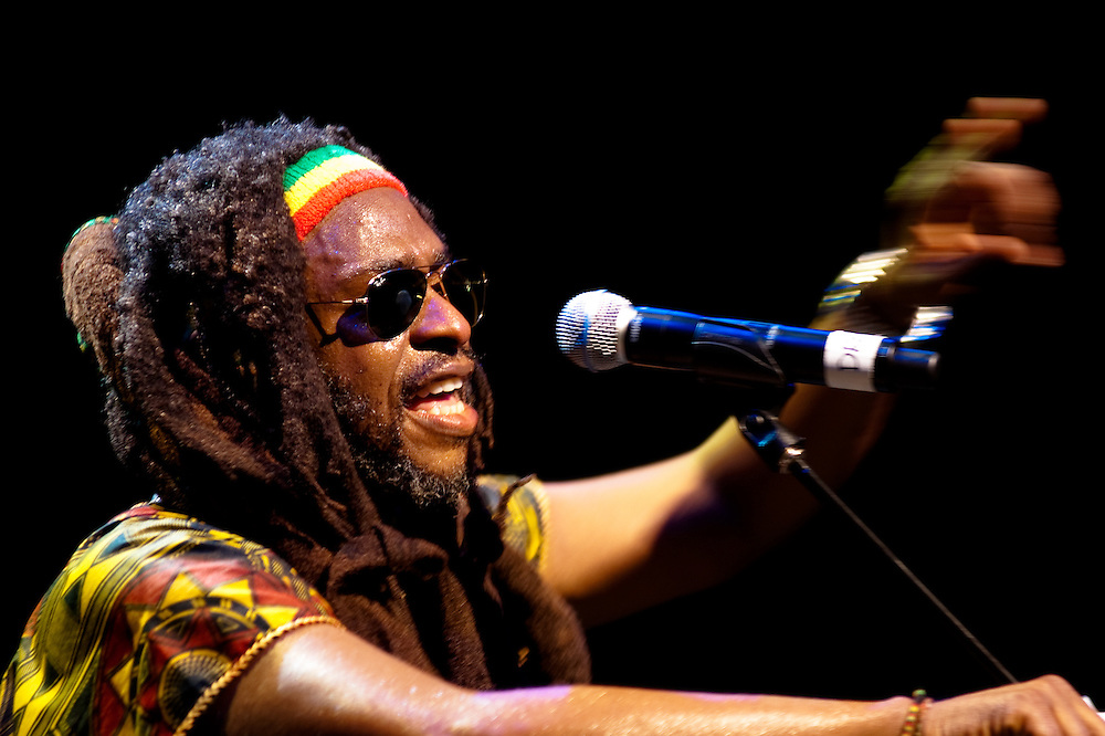 David Hinds of Steel Pulse @ the 930 Club, Washington, DC
