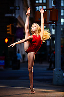 Dance As Art New York City Photography Project SoHo Series with dancer, Amy Relf