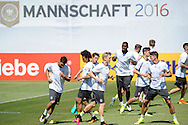 The German team during training at Stadio Communale, Ascona<br /> Picture by EXPA Pictures/Focus Images Ltd 07814482222<br /> 25/05/2016<br /> ***UK &amp; IRELAND ONLY***<br /> EXPA-EIB-160525-0006.jpg