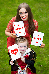 Repro Free: Dublin 14/05/2014<br /> Young Queen of Hearts Lucy O&rsquo;Toole (aged 6), joined children&rsquo;s TV presenter Diana Bunici to launch this year&rsquo;s Happy Hearts Appeal on behalf of the Irish Heart Foundation supported by SuperValu. The Happy Hearts Appeal is celebrating its 25th year of fundraising to fight heart disease and stroke and it starts, 15th May running until Saturday, 17th May. Over the three days, more than 3,000 volunteers together with SuperValu stores, will be selling happy heart badges for &euro;2 to raise funds to save lives from sudden cardiac arrest and help the Irish Heart Foundation reach it&rsquo;s &euro;500,000 target to deliver a new national CPR education campaign later this autumn. www.happyhearts.ie Picture Andres Poveda<br />  <br /> <br /> For more information contact Caroline Cullen, Communications Manager, Irish Heart Foundation, DL: 01-6346908, Mob: 086-6049282.