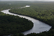 Demerara River<br /> GUYANA<br /> South America