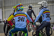 #241 (GOMMERS Ruben) BEL at Round 2 of the 2019 UCI BMX Supercross World Cup in Manchester, Great Britain