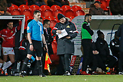 Doncaster Rovers Manager Grant McCann during the EFL Sky Bet League 1 match between Doncaster Rovers and Barnsley at the Keepmoat Stadium, Doncaster, England on 15 March 2019.