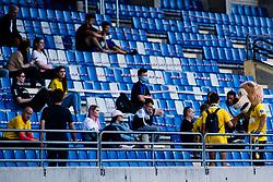 Spectators during football match between NK Bravo and NK Koper in 4th Round of Prva liga Telekom Slovenije 2020/21, on September 19, 2020 in Sport park ZAK, Ljubljana, Slovenia. Photo by Grega Valancic / Sportida