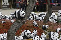 FEB 21 2014  Paper-made pandas