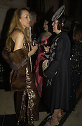 JERRY HALL AND ISABELLA BLOW. Andy and Patti Wong host  party to cleebrate then Chinese New Year of the Dog. Royal Courts of Justice. Strand. London. 28 January 2006. © Copyright Photograph by Dafydd Jones 66 Stockwell Park Rd. London SW9 0DA Tel 020 7733 0108 www.dafjones.com