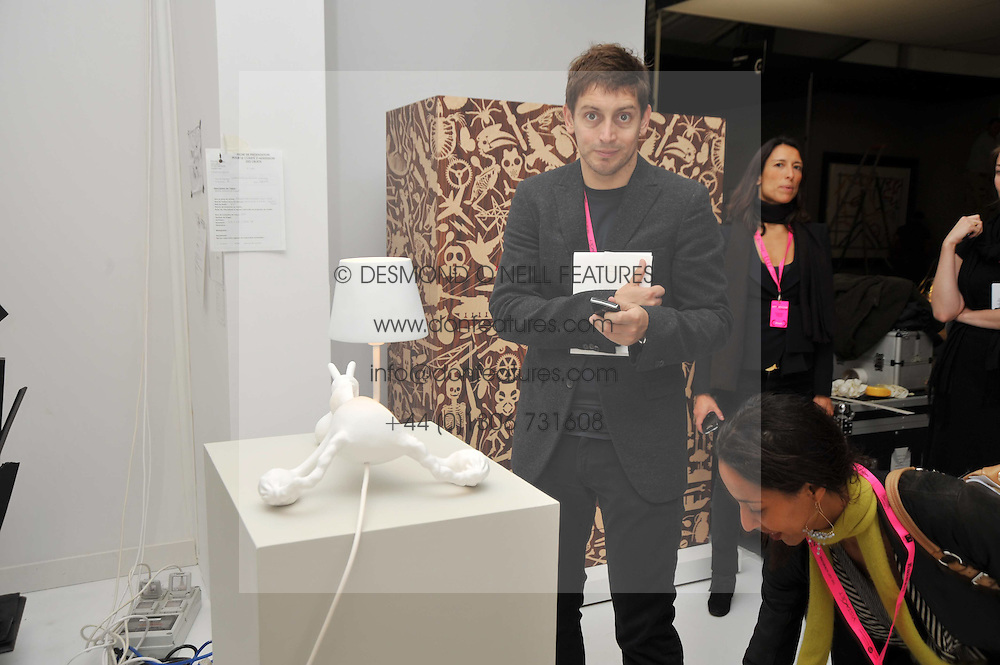 the Moet Hennessy Pavilion of Art & Design London Prize 2009 held in Berkeley Square, London on 12th October 2009.
