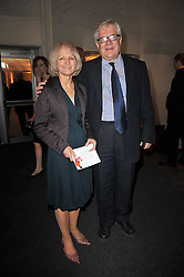 JOHN & DENISE BATTERSBY at a gala evening in aid of Ubuntu Education Fund held at Battersea Power Station, London on 4th May 2011.