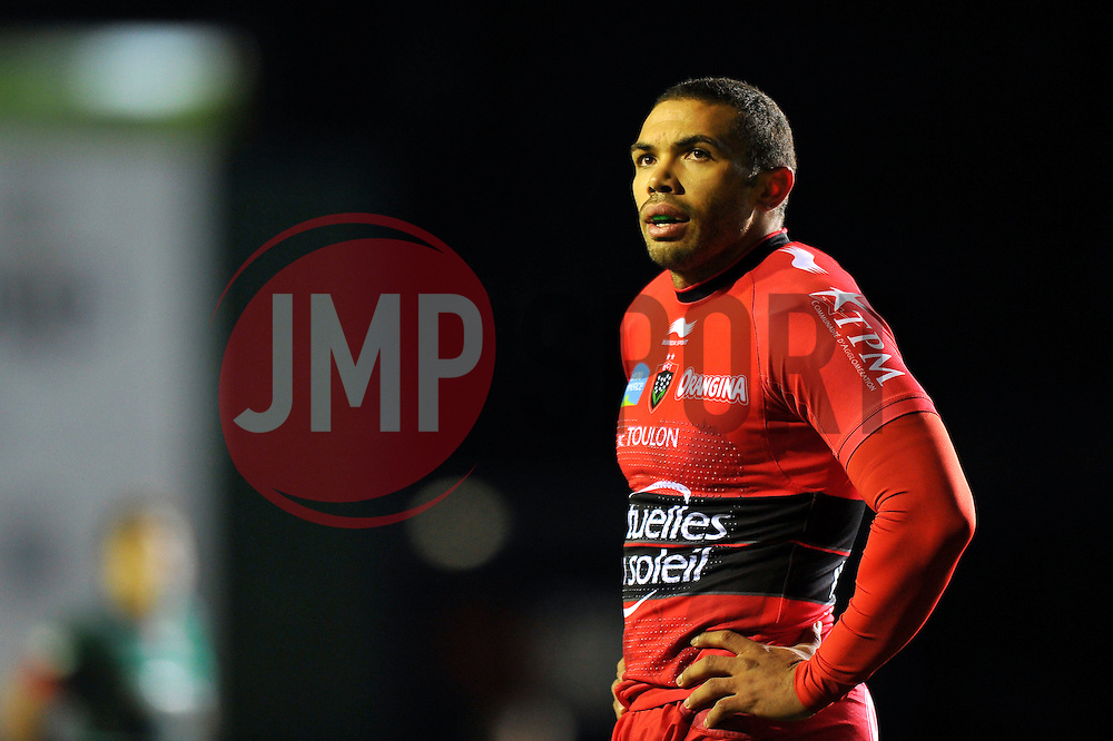 Bryan Habana of Toulon looks on - Photo mandatory by-line: Patrick Khachfe/JMP - Mobile: 07966 386802 07/12/2014 - SPORT - RUGBY UNION - Leicester - Welford Road - Leicester Tigers v Toulon - European Rugby Champions Cup