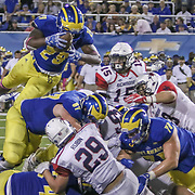 NCAA FOOTBALL 2017 - OCT 21 - Delaware defeated Richmond 42-35 in double overtime