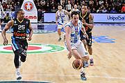 DESCRIZIONE : Campionato 2014/15 Serie A Beko Dinamo Banco di Sardegna Sassari - Upea Capo D'Orlando<br /> GIOCATORE : Giacomo Devecchi<br /> CATEGORIA : Palleggio Contropiede<br /> SQUADRA : Dinamo Banco di Sardegna Sassari<br /> EVENTO : LegaBasket Serie A Beko 2014/2015<br /> GARA : Dinamo Banco di Sardegna Sassari - Upea Capo D'Orlando<br /> DATA : 22/03/2015<br /> SPORT : Pallacanestro <br /> AUTORE : Agenzia Ciamillo-Castoria/L.Canu<br /> Galleria : LegaBasket Serie A Beko 2014/2015