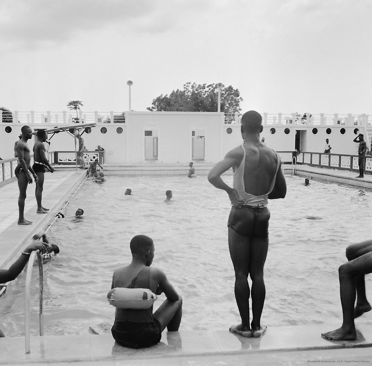 Swimming Pool at the Achinota College, Accra, Ghana, Africa, 1937