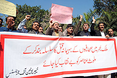 MAR 02 2013 Journalist Protest