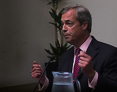 2016-06-22 UKIP's Nigel Farage delivers his final pre-referendum speech ahead of EU vote.