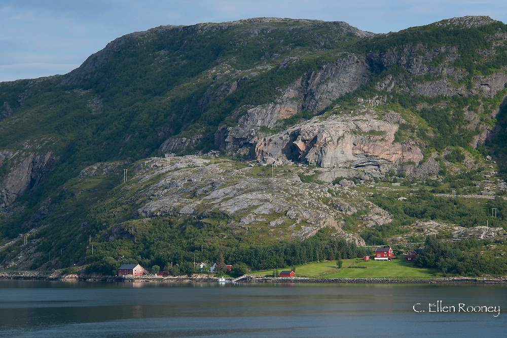 Dramatic scenery along the northwest coast of<br />