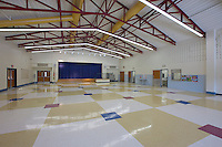 Architectural interior image of Bollman Bridge Elementary School in Jessup MD by Jeffrey Sauers of Commercial Photographics