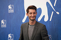 Pierre Niney at the Frantz film photocall at the 73rd Venice Film Festival, Sala Grande on Saturday September 3rd 2016, Venice Lido, Italy.