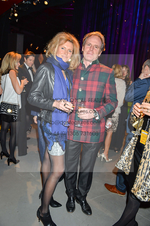 JAMES LINDSAY and his wife AMELIA at A Night of Motown in aid of Save The Children UK held at The Roundhouse, Chalk Farm Road, London on 3rd March 2016.