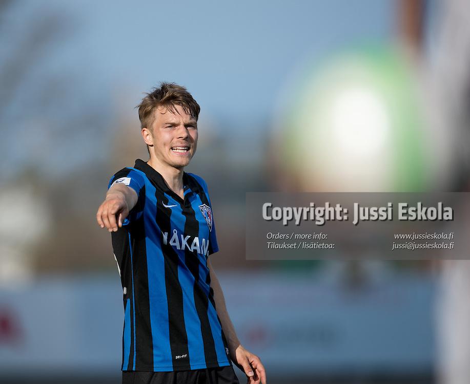 Ville Nikkari. TPS - Inter. Veikkausliiga. Turku, 13.5.2013. Photo: Jussi Eskola