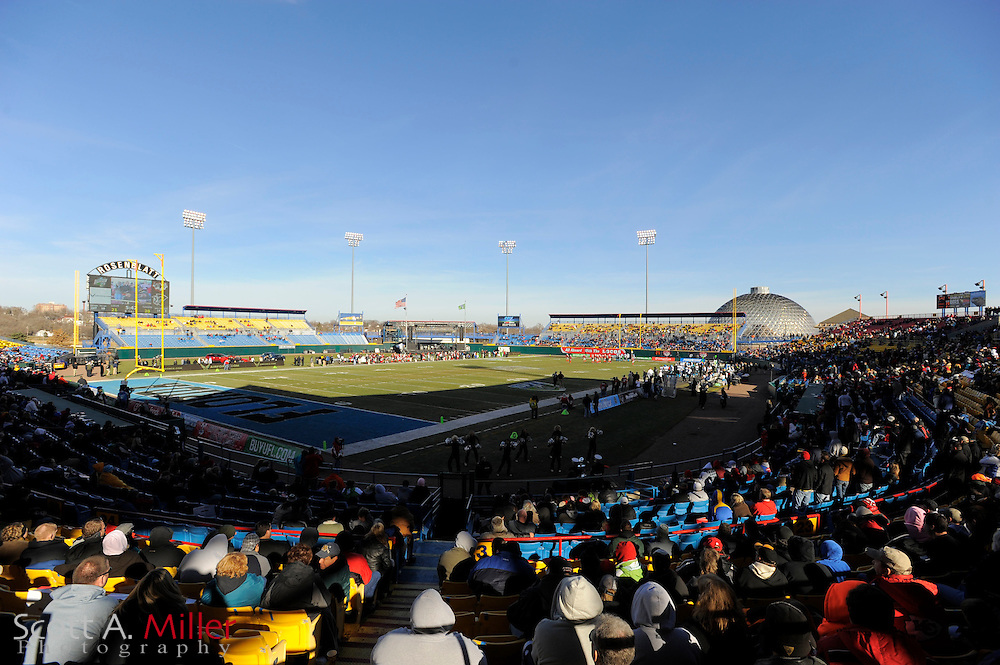 General view of Rosenblatt Stadium during the United Football League championship game between the Florida Tuskers and Las Vegas Locomotives on Nov. 27, 2010 in Omaha, Nebraska. Las Vegas won the game 23-20...©2010 Scott A. Miller