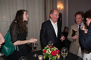 KATHRYN BALLS; WILLIAM BOYD; The launch of 'Solo', the new James Bond novel written by William Boyd,  The Dorchester , PARK LANE, LONDON. 25 SEPTEMBER 2013.
