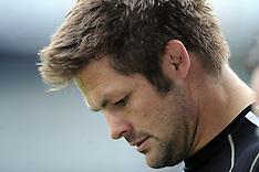 Dunedin, Rugby-New Zealand Captains Run, September 14