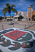 Town square in San Sebastián Puerto Rico.