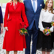 NLD/Groningen/20180427 - Koningsdag Groningen 2018,  Koningin Maxima, Koning Willem Alexander, Prinses Alexia