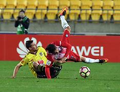 Wellington-Football, A-League, Phoenix v Melbourne City FC