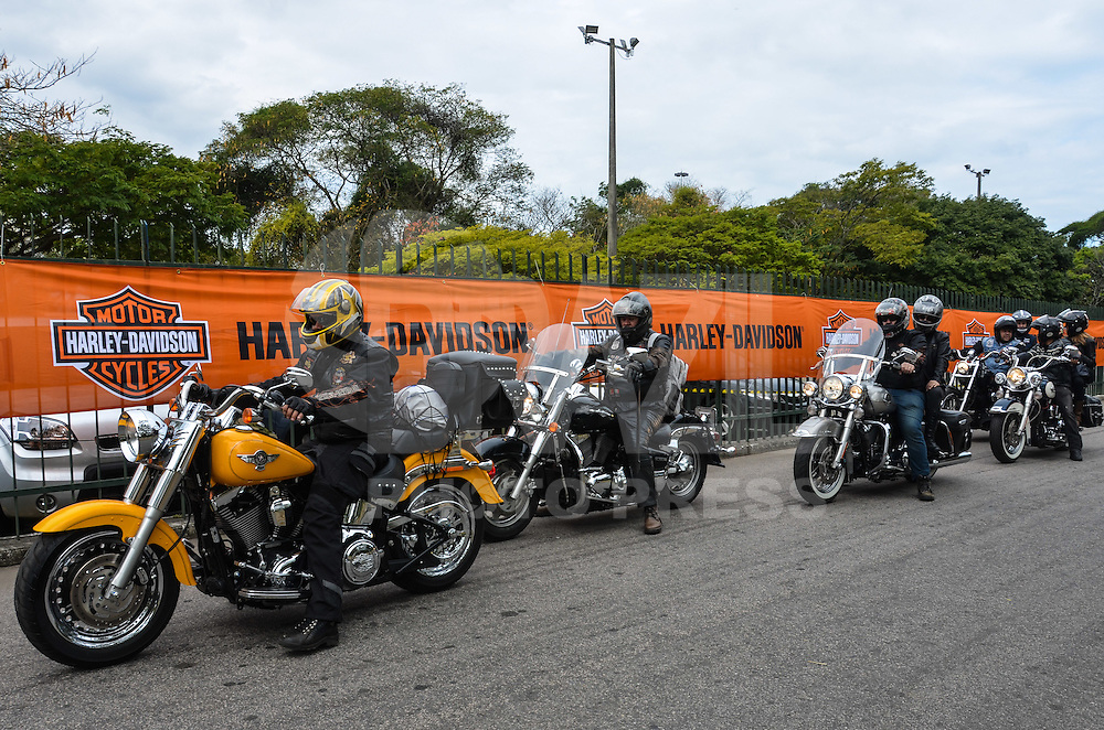 ATENCAO EDITOR: FOTO EMBARGADA PARA VEICULOS INTERNACIONAIS. - RIO DE JANEIRO, RJ,14 DE SETEMBRO 2012 - RIO HARLEY DAYS 2012-A partir de hoje, 14 de setembro a Marina da Gloria recebe o Rio Harley Days 2012, sucesso na Espanha, FRanca, Alemanha e Croacia, o evento desembarca para sua segunda edicao no Brasil, na Marina da Gloria, na Gloria, zona sul do Rio de Janeiro.(FOTO: MARCELO FONSECA / BRAZIL PHOTO PRESS).