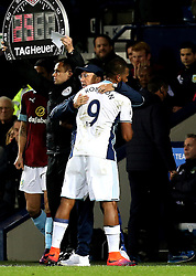 West Bromwich Albion manager Tony Pulis hugs Jose Salomon Rondon of West Bromwich Albion - Mandatory by-line: Robbie Stephenson/JMP - 21/11/2016 - FOOTBALL - The Hawthorns - West Bromwich, England - West Bromwich Albion v Burnley - Premier League