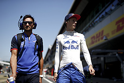 July 8, 2018 - Silverstone, Great Britain - Motorsports: FIA Formula One World Championship 2018, Grand Prix of Great Britain, .#28 Brendon Hartley (NZL, Red Bull Toro Rosso Honda) (Credit Image: © Hoch Zwei via ZUMA Wire)