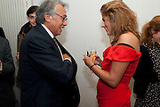 DAVID TANG; TRACEY EMIN, Do Not Abandon Me - private view od wok by Tracey Emin alongside that of Louise Bourgeois. <br /> Hauser & Wirth London, 15 Old Bond Street, London, 17 February 2011. -DO NOT ARCHIVE-© Copyright Photograph by Dafydd Jones. 248 Clapham Rd. London SW9 0PZ. Tel 0207 820 0771. www.dafjones.com.