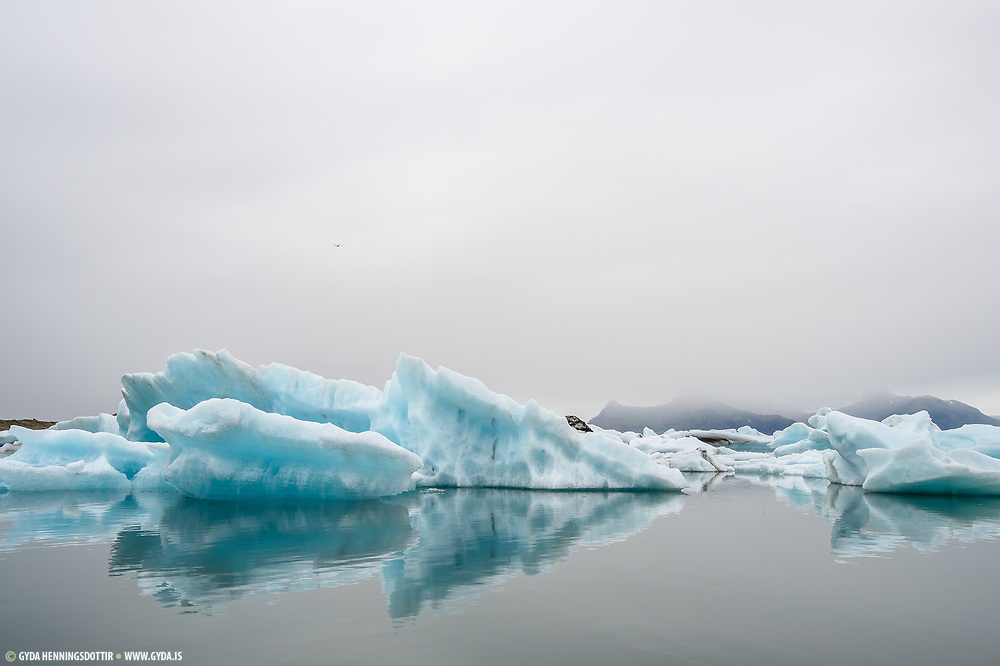 Jokulsarlon is the most popular tourist stop in Iceland.