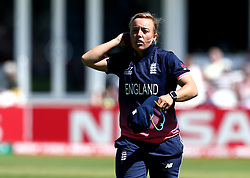 Danielle Hazell of England Women - Mandatory by-line: Robbie Stephenson/JMP - 02/07/2017 - CRICKET - County Ground - Taunton, United Kingdom - England Women v Sri Lanka Women - ICC Women's World Cup Group Stage