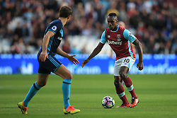 Michail Antonio of West Ham United in action - Mandatory by-line: Jason Brown/JMP - 01/10/2016 - FOOTBALL - London Stadium - London, England - West Ham United v Middlesbrough - Premier League