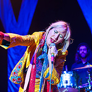 Karen O of the Yeah Yeah Yeahs performs at the 2013 Sweetlife Music and Food Festival at Merriweather Post pavilion.