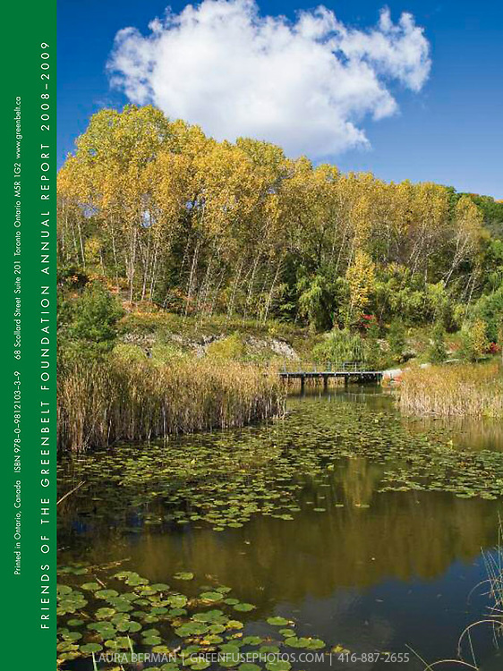 Cover for Friends of the Greenbelt Foundation Annual Report 2008-2009