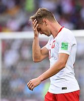 FUSSBALL WM 2018  Vorrunde  Gruppe H --- Polen - Senegal           19.06.2018 Lukasz Piszczek (Polen)