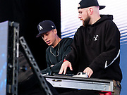 The Lost Kings perform during Clubhouse Festival 2018 at Laurel Park in Laurel, MD on Saturday, October 20, 2018.