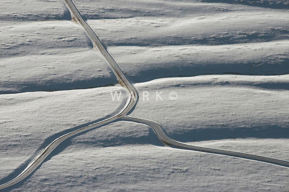 Winter mountain road, near Westcliffe, Colorado. Feb 2013. 82512