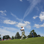John Daly, USA, in action during the second round of the Travelers Championship at the TPC River Highlands, Cromwell, Connecticut, USA. 20th June 2014. Photo Tim Clayton