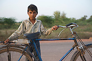 Child living on the roadside - Rajasthan, India