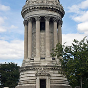 Soldiers' & Sailors' Monument on Riverside Drive & 89th Street in Manhattan, Commemorating Union Soldiers and Sailors who Served in the Civil War