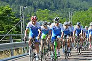 Il Ct della Nazionale Italiana di ciclismo per professionisti Davide Cassani, in ritiro a Malè, Val di Sole,giugno 2014 © foto Daniele Mosna