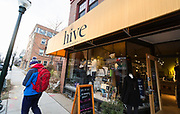 Exterior view of Hive of Madison on Monroe Street in Madison, Wisconsin, Friday, Nov. 23, 2018.